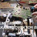 kerusakan proyektor benq