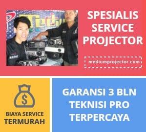 Jasa Service Projector Bergaransi Terbaik