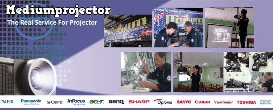 service projector tangerang