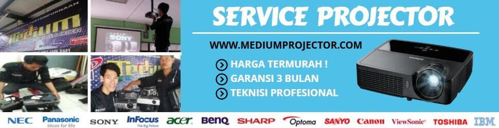 layanan jasa service projector
