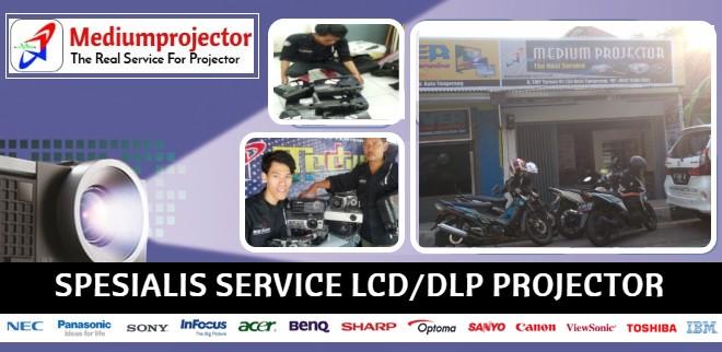 service projector jakarta barat